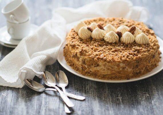 طرز تهیه کیک مدوویک