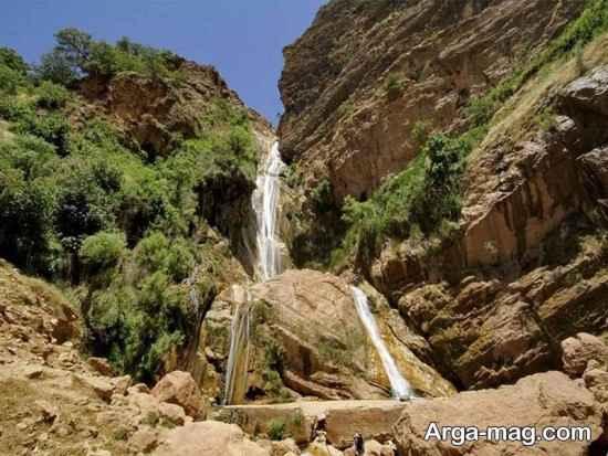 آبشار مرتفع نوژیان
