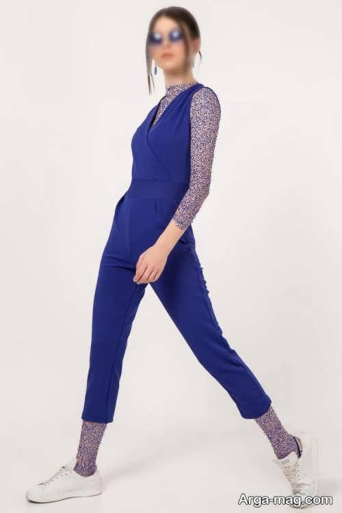 لباس اورال آبی تیره