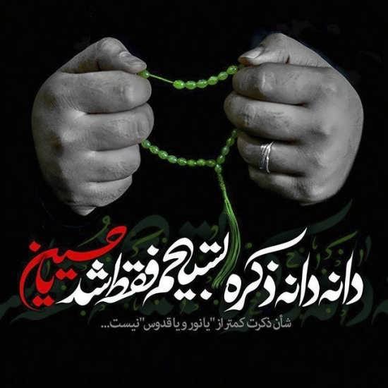 عکس پروفایل امام حسین بسیار مفهومی و زیبا