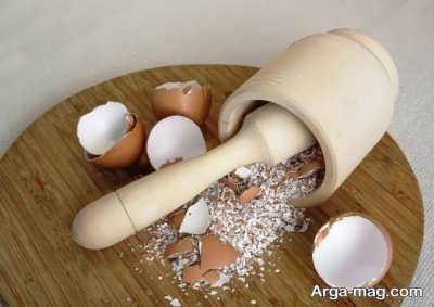 خاصیت های مختلف پوست تخم مرغ