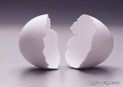 انواع خاصیت برای پوست تخم مرغ
