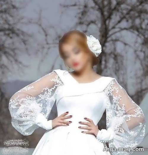 مدل لباس عروس شیک و زیبا