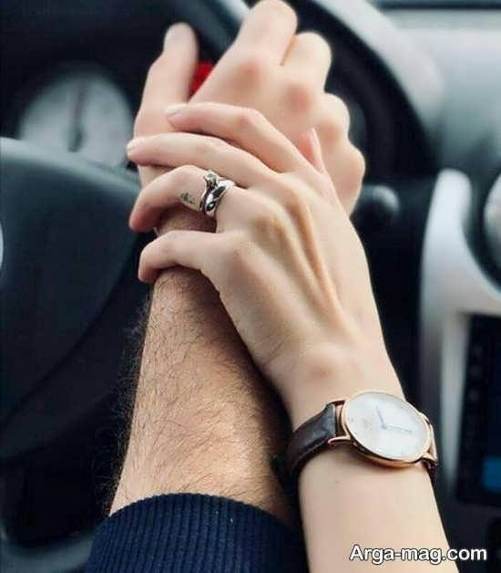 مجموعه عکس عاشقانه در ماشین