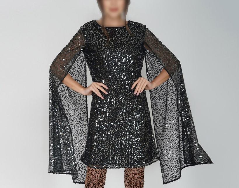 مدل لباس پولکی
