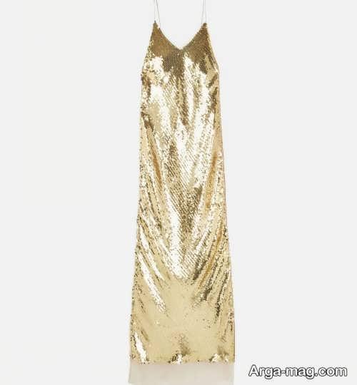 لباس دخترانه پولکی