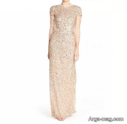 لباس بلند پولکی