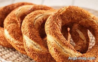 روش پخت نان سیمیت