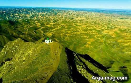 ارتفاعات ترکمن صحرا