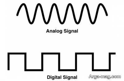 تفاوت های سیگنال دیجیتال با سیگنال آنالوگ