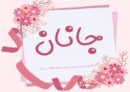 معنی اسم زیبای جانان