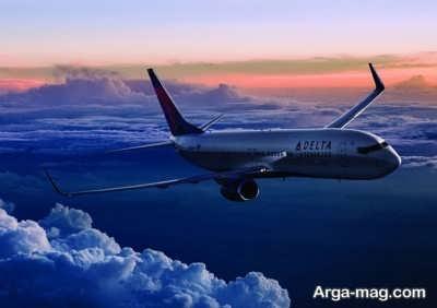 آبی بودن رنگ صندلی هواپیما
