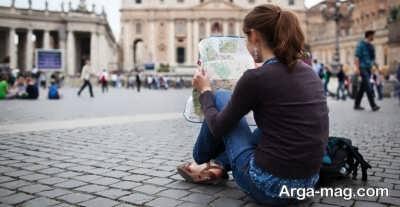 آشنای با نکات تنها سفر کردن