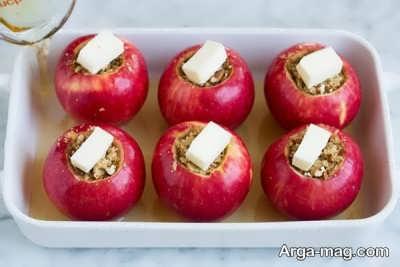 دستور تهیه دسر سیب