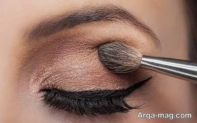 آرایش چشم برای پوست گندمی