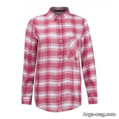 پیراهن زنانه چهارخانه