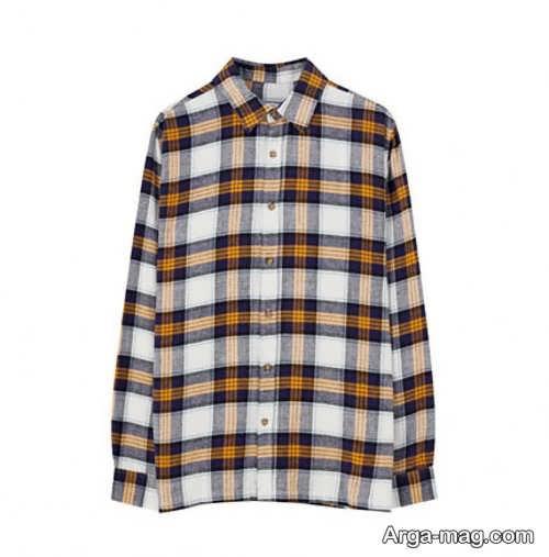 مدل پیراهن چهارخانه زنانه جذاب