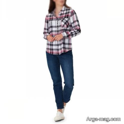 پیراهن چهارخانه