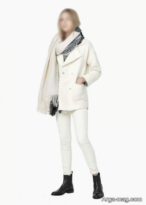 کت رنگ روشن زنانه