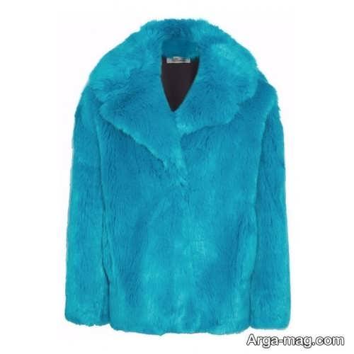 کت آبی مخصوص خانم ها