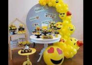 گالری زیبایی از ایده های تم تولد زرد