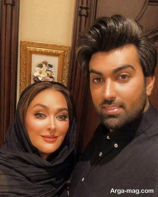 الهام حمیدی پستی عاشقانه برای همسرش منتشر کرد!