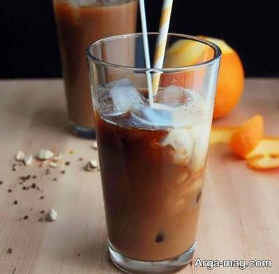 دستور تهیه قهوه پرتقالی