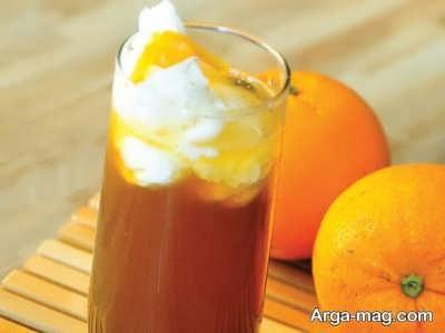 روش تهیه قهوه پرتقالی در خانه