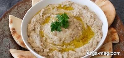 متبل پیش غذای لبنانی