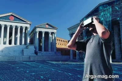 کاربرد واقعیت مجازی در مشاهده موزه ها و امکان فرهنگی