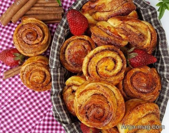 آموزش طرز تهیه نان دارچینی با طعمی فوق العاده