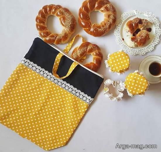 آموزش آسان برای دوخت کیسه نان در خانه