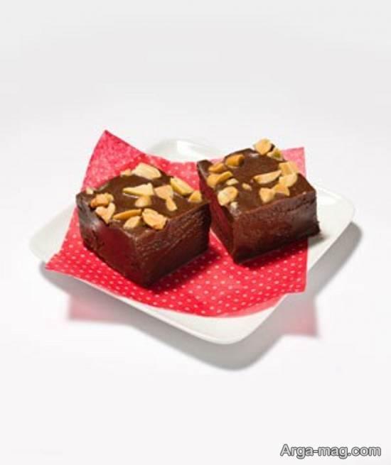 طرز تهیه فاج شکلاتی شیرینی خوشمزه