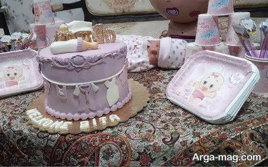 ایده هایی بینظیر از تزیین جشن ده روزگی نوزاد به زیبایی