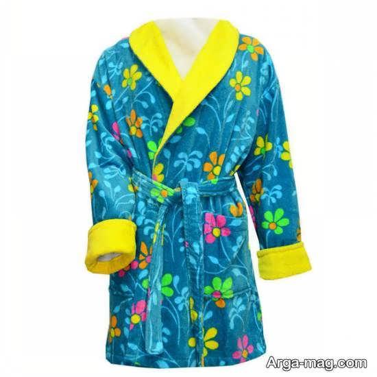 آموزش روش دوخت حوله ی تن پوش با طرحی زیبا و دو رنگ