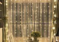 ایده هایی زیبا از تزیین اتاق با ریسه های نور
