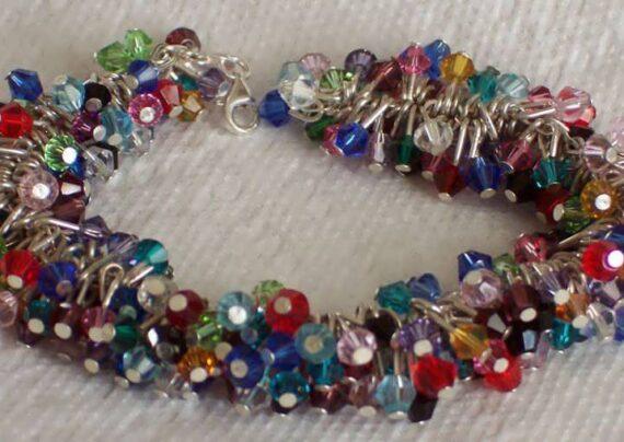 ایده هایی زیبا و شیک از دستبند خوشه ای و آموزش ساخت آن