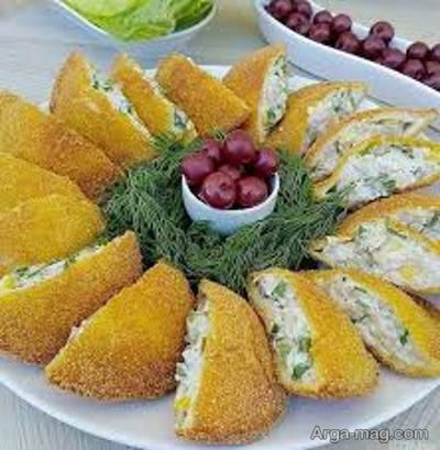 طرز پخت جیب پر از غذاهای لقمه ای برای مهمانی ها