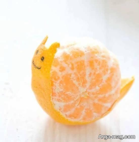 ایده هایی خاص و ناب از میوه آرایی با نارنگی برای تمامی سلیقه ها