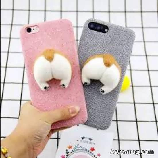 ایده هایی زیبا و جذاب از تزیین قاب گوشی با استفاده از نمد