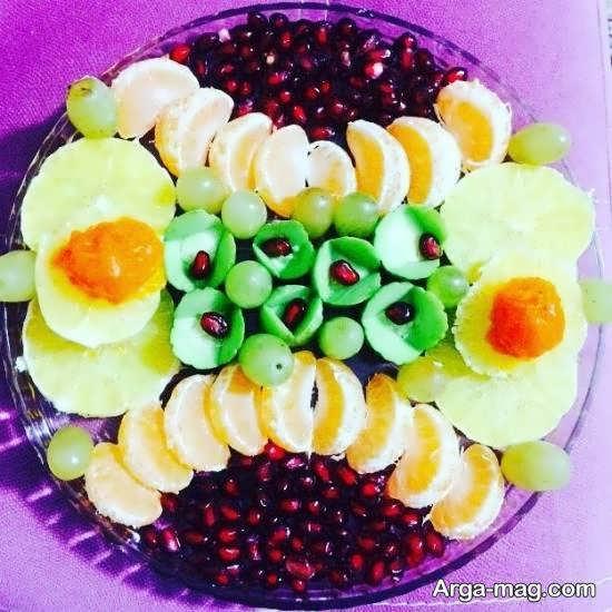 ایده هایی جذاب از تزیینات میوه با نارنگی برای سلیقه های مختلف
