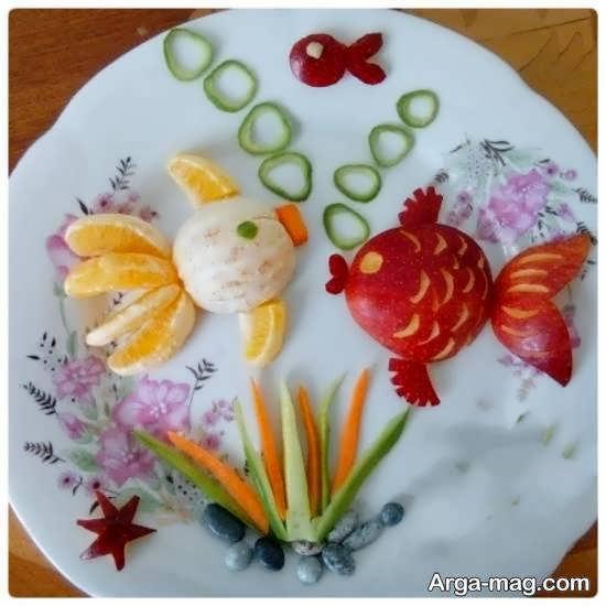 گالری شیک و لوکسی از ایده های میوه آرایی با نارنگی
