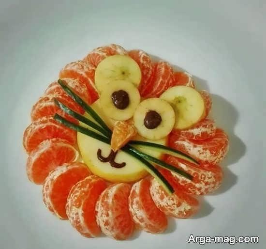 نمونه هایی ایده آل و منحصر به فرد از میوه آرایی با میوه