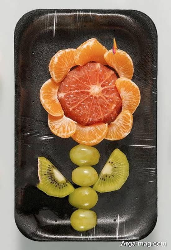 ایده هایی زیبا و چشمگیر از تزیین میوه با نارنگی
