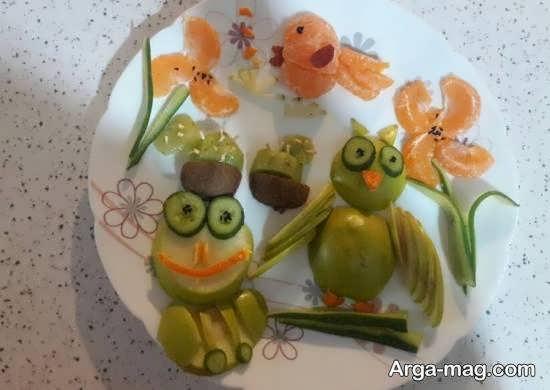 گالری شیک و لوکسی از تزیین میوه با استفاده از نارنگی برای تمامی سلیقه ها