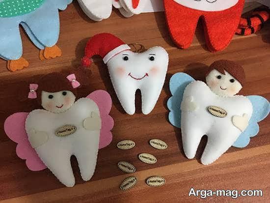 نمونه هایی بینظیر و خارق العاده از تزیینات هدیه ی دندونی برای خوش سلیقه ها