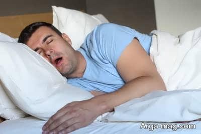 چگونگی کنترل آب دهان در خواب