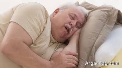 ریخته شدن آب دهان هنگام خواب