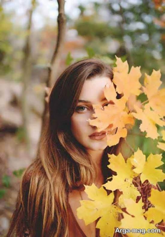 Autumn photo pose (31) آرگا