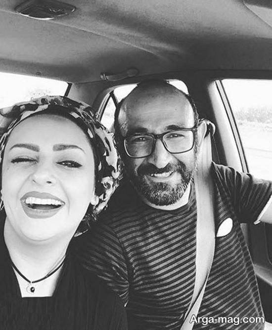 بیوگرافی مهشید ناصری و همسرش